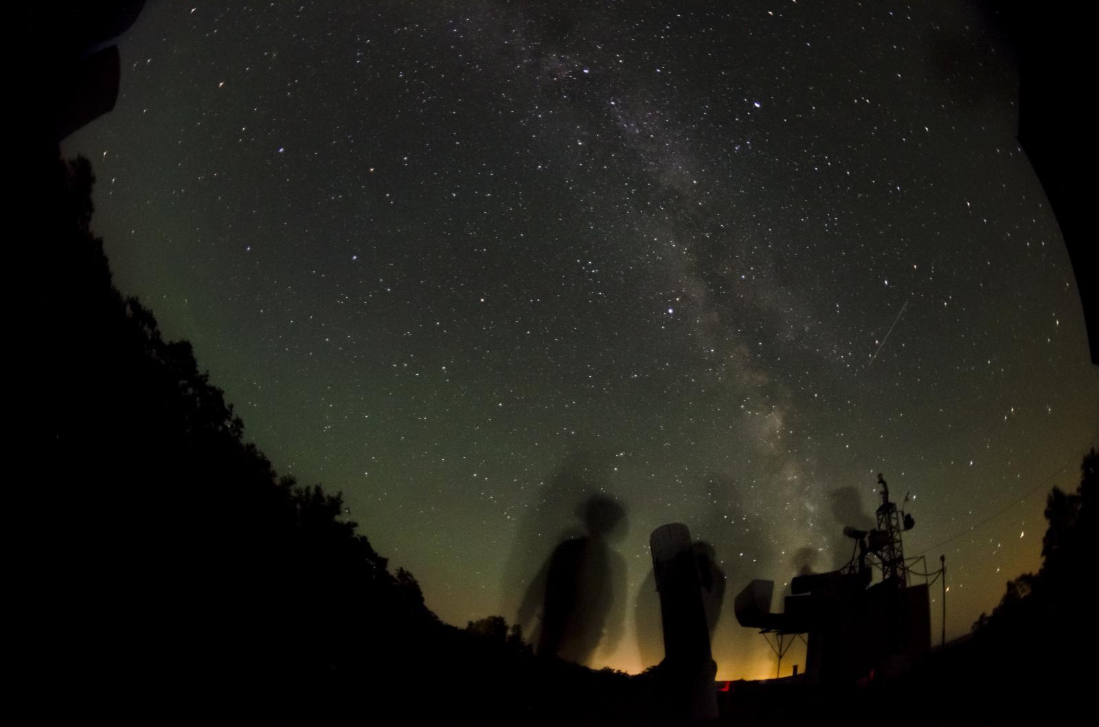 Ночь в УАФО