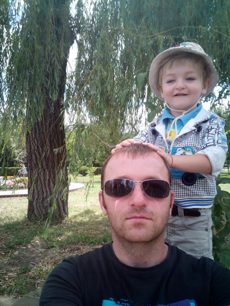 Сэлфи с сыном =)