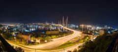 """Панорама с видом на """"Золотой"""" мост"""