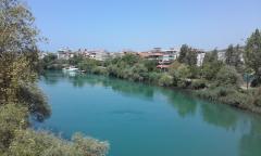 Река манавгат, крупнейшая в западной турции  ;)